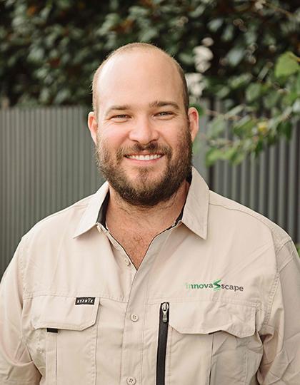 Image of Chris Leighton, Site Supervisor for InnovaScape